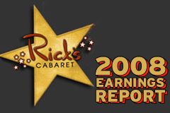 Rick's Cabaret Reports Increased Earnings