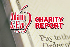 Adam & Eve Releases Charity Report