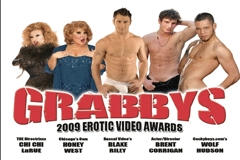 Wolf Hudson to Co-host Grabby Awards
