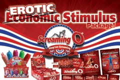 The Screaming O Launches 'Erotic' Stimulus Package
