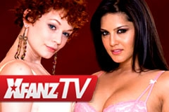 XFANZ TV Talks Sex With Sunny Leone, Justine Joli
