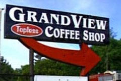 Topless Maine Coffee Shop Reopens in Tent
