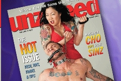 Margaret Cho, Ricky Sinz Are 'Unzipped'