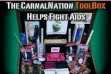 CarnalNation to Auction ToolBox to Fight AIDS