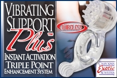 CalExotics Releases Latest Addition to Vibrating Support Plus Line