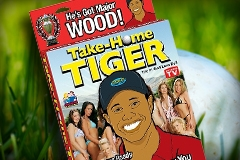 Pipedream Releases Tiger Woods Inflatable Love Doll