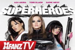 XFANZ TV Goes Behind the Scenes at 'Superheroes'