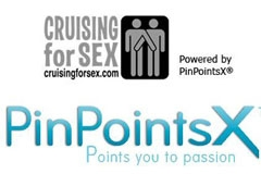 PinPointsX, CruisingForSex Partner to Expand Hookups