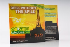 Special Edition Oil Spill Condoms to Benefit Gulf Coast
