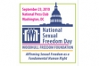 Woodhull Foundation Presenting State of Sexual Freedom Report Sept. 23