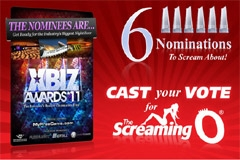 The Screaming O Gets 6 XBIZ Award Noms