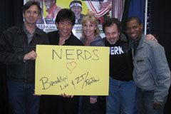 'Revenge of the Nerds' Cast Endorses Parody, Brooklyn Lee