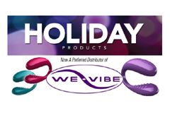 Holiday Products Chosen as We-Vibe Preferred Distributor