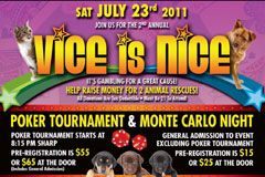Kelly Holland to Host Vice is Nice Animal Charity Event