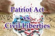 Democrats Back Down on Patriot Act