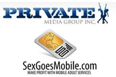 Private Media Group, SexGoesMobile Ink Partnership Deal