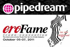 Pipedream to Exhibit at eroFame