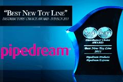 Pipedream Extreme Toyz Awarded 'Best New Toy Line' by ECN