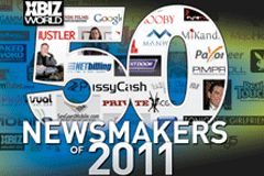 XBIZ World Magazine Names Top 50 Industry Newsmakers of 2011