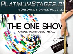Platinum Stages to Showcase Freestanding Star Stand Alone Pole at XBIZ Retail
