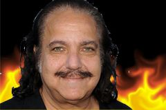 Ron Jeremy Spied Shooting Horror Film