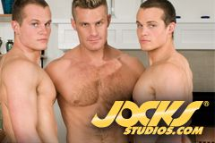 Jocks Studios Releases New Scene With Rosso Twins