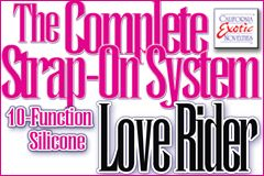 CalExotics Introduces Complete Strap-On System