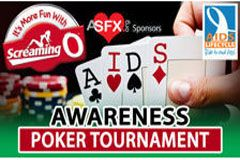 The Screaming O to Co-sponsor Poker Tournament for HIV/AIDS Awareness