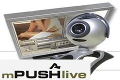 MPUSHlive Debuts Streaming Video to Mobile