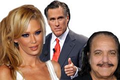 Jenna Jameson, Ron Jeremy Give Romney  Thumbs Up