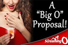 The Screaming O Big O Couples Ring Used in Marriage Proposal