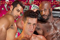 Raging Stallion Premieres Monster Bang's 'Stripped: Make it Rain'