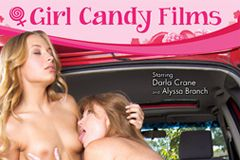 AEBN Now Streaming Girl Candy Films' 'Hitchhiking Lesbians'