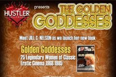 'Golden Goddesses' of Porn Light Up Hustler Hollywood