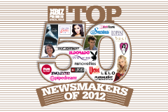 XBIZ Premiere Magazine Lists Top 50 Newsmakers of 2012