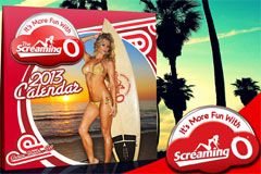 The Screaming O Debuts 2013 Calendar