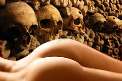 Public Porn Finds Home in Paris' Catacombs
