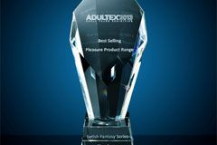Pipedream Wins Adultex Award for Best-Selling Range