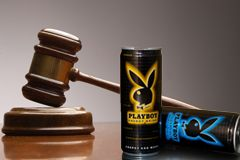 Playboy Bunny Stays on Energy Drink, Judge Rules