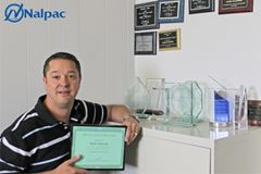 Nalpac Names Mark Sulewski Salesman of the Year