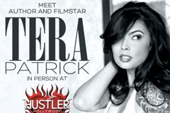 Tera Patrick to Sign Book at Hustler Hollywood in San Diego