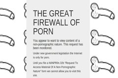 U.K. Hacker Creates Porn-only Firewall to Protest Filtering Plan