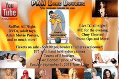 PAW's Bare Bowling Event Slated for Sept. 1