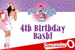 The Screaming O Sponsors 'Pure Delish' 4th Anniversary Party