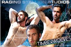 Raging Stallion's Erotic Thriller 'Timberwolves' Streets