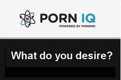 PornHub to Roll Out Porn IQ