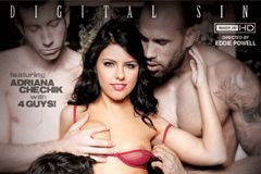 India Summer, Adriana Chechik Do First Gangbangs for Digital Sin