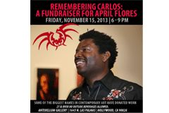 Remembering Carlos: A Fundraiser for April Flores This Friday