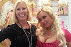 Reality TV Star 'Coco' Takes Spotlight at CalExotics' ANME Booth