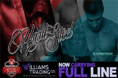 Williams Trading Now Carrying Blush Novelties' Hard Steel